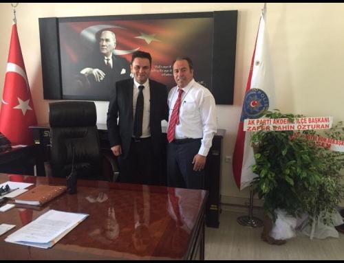 Mersin Akdeniz İlçe Emniyet Müdürlüğüne Ziyaret
