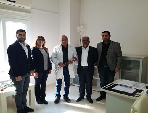 Mezitli CHP İlçe Teşkilatı Tüm Hekimlerimizin Tıp Bayramını Kutladı