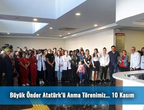 Büyük Önder Atatürk'ü Anma Törenimiz…