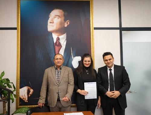 Mezitli Belediye Başkan Yardımcısı Sayın Ertan Güner'i Makamında Ziyaret Ettik